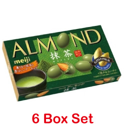 Meiji Almond Chocolate Matcha ...
