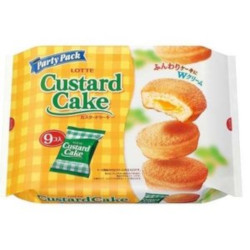Lotte Custard Cake Party Pack ...