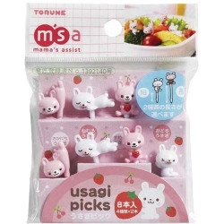 Torune Bento 3D Food Pick, 8-P...