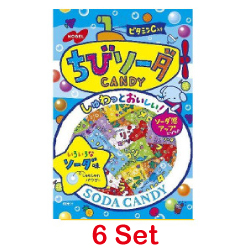 Nobel Chibi Soda 90g [6 Set]
